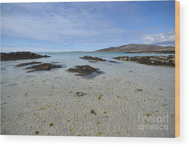 Eriskay Wood Print featuring the photograph Eriskay by Smart Aviation