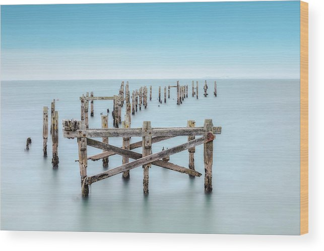 Swanage Wood Print featuring the photograph Swanage - England by Joana Kruse
