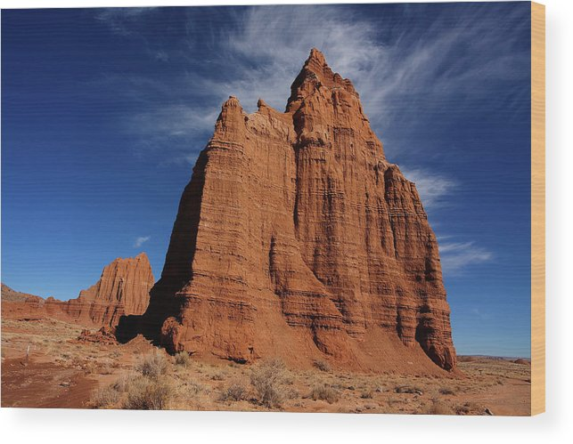Capitol Reef National Park Wood Print featuring the photograph Canyonlands National Park by Mark Smith