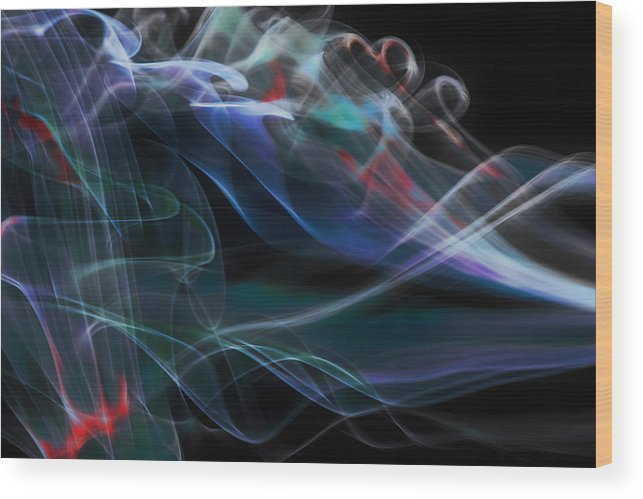 Illusion Wood Print featuring the photograph Acceleration by Thomas Morris
