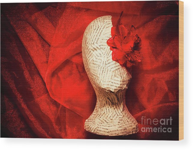 Sculpture Wood Print featuring the photograph Afterlife Chronicles by Jorgo Photography - Wall Art Gallery