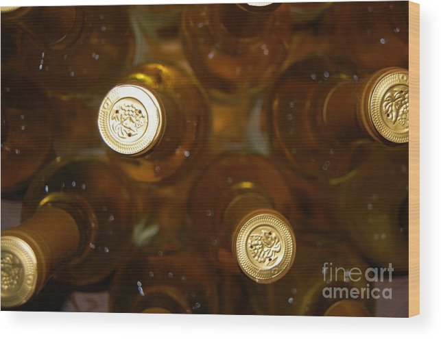 Wine Wood Print featuring the photograph Aged Well by Debbi Granruth