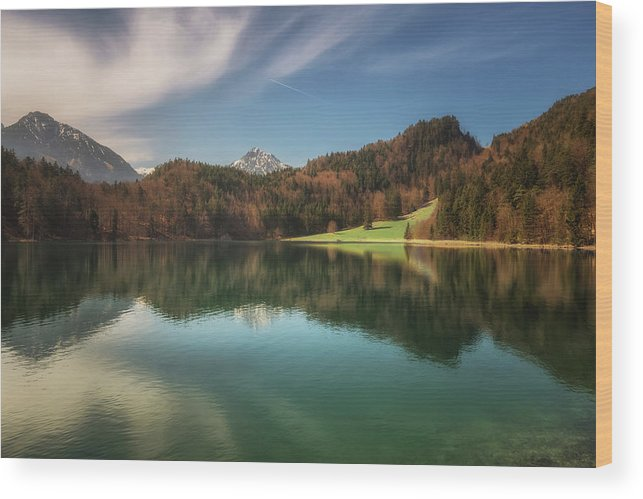 Alatsee Wood Print featuring the photograph Alatsee No 2 by Chris Fletcher