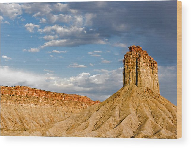 Mountain Wood Print featuring the photograph Amazing Mesa Verde Country by Christine Till