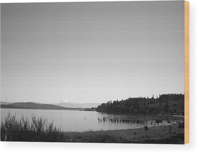 Anacortes Wood Print featuring the photograph Anacortes by Steven Wilson