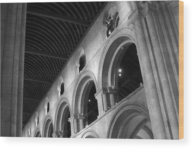 Jez C Self Wood Print featuring the photograph Archway To Above by Jez C Self