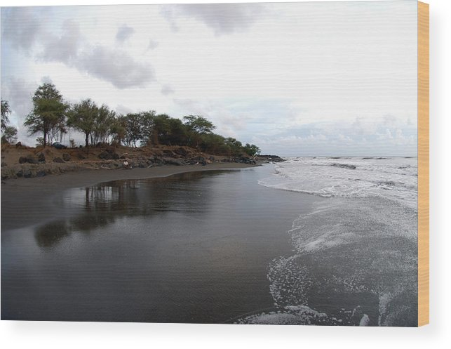 Kauai Wood Print featuring the photograph As It Was by Davida Parker