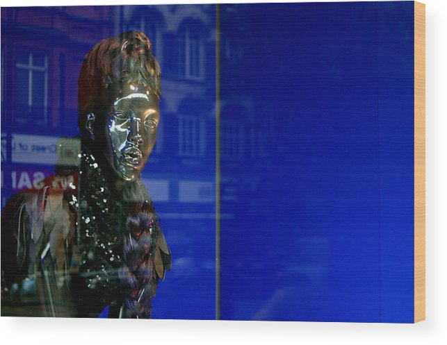 Jez C Self Wood Print featuring the photograph Blue Queen 2 by Jez C Self