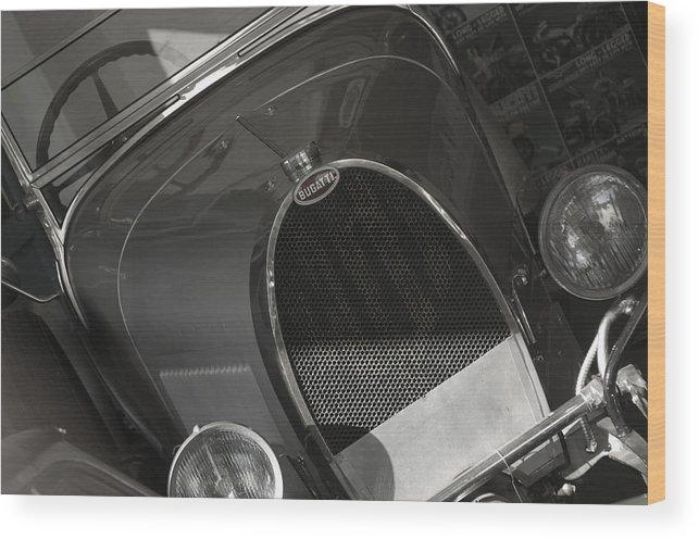 Jez C Self Wood Print featuring the photograph Bugatti 3 by Jez C Self