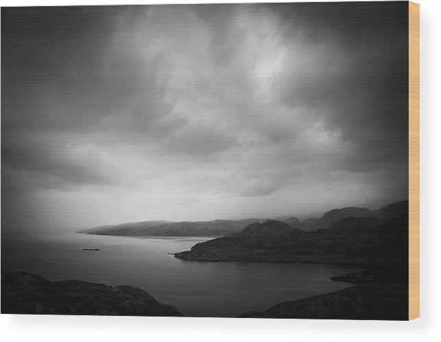 Applecross Peninsula Wood Print featuring the photograph By The Loch by Dorit Fuhg