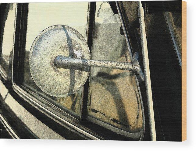 Car Wood Print featuring the photograph Car Alfresco I by Kathy Schumann