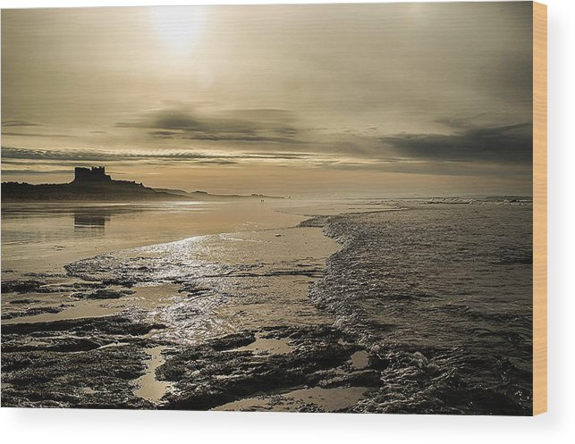 Castle Wood Print featuring the photograph Castle On The Shore by Nicole Williams