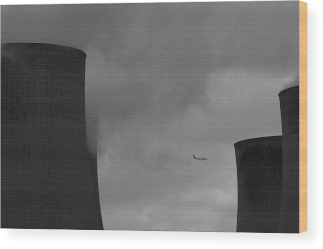 Jez C Self Wood Print featuring the photograph Cooling Flight by Jez C Self