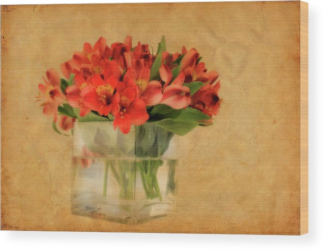 Flowers Wood Print featuring the photograph Cultivated Beauty by Shelley Neff