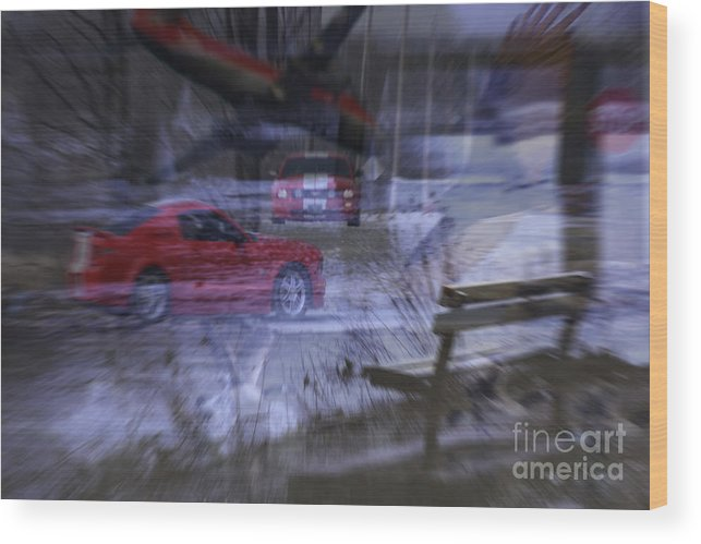 Life Wood Print featuring the digital art Deceptions by Cathy Beharriell