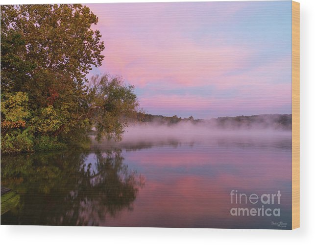 America Wood Print featuring the photograph Delightfully Pink Morning by Jennifer White