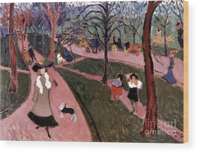 20th Century Wood Print featuring the photograph Derain: Hyde Park by Granger