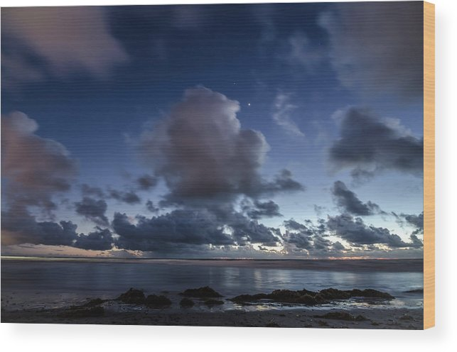 Clouds Wood Print featuring the photograph Endless Horizons by Margaret Pitcher