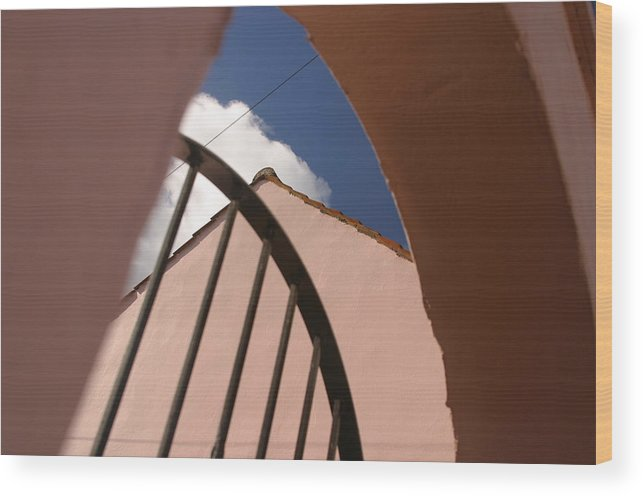 Jez C Self Wood Print featuring the photograph Enough Blue by Jez C Self