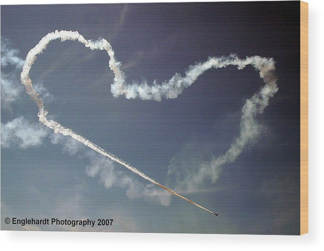 Aviation Wood Print featuring the photograph For The Love Of Flight by Jennifer Englehardt