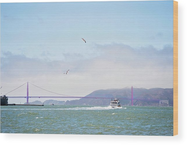 Golden Gate Bridge Wood Print featuring the photograph Golden Gate Bridge by Micah Williams