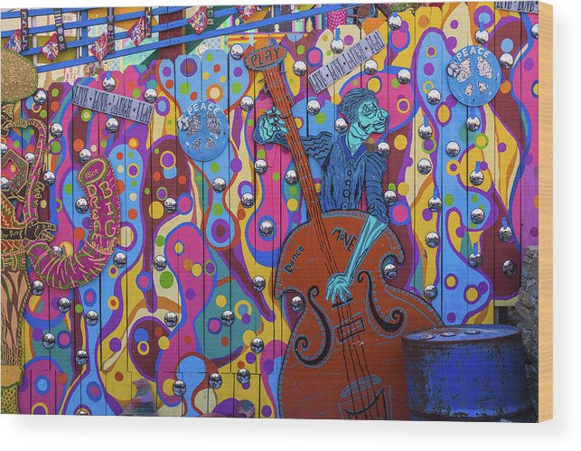 Pennsylvania Wood Print featuring the photograph Groovy Music by Stewart Helberg