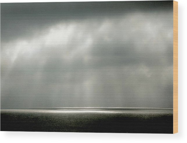Landscape Wood Print featuring the photograph Horizontal Number 9 by Sandra Gottlieb