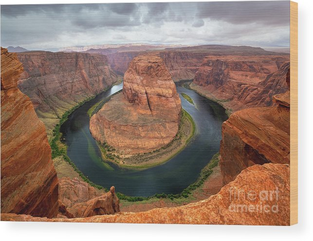 Horseshoe Bend Wood Print featuring the photograph Horseshoe Bend by Mimi Ditchie