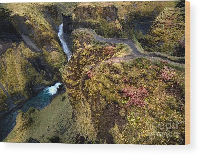 Iceland Wood Print featuring the photograph Icelandic Autumn by Gal Gross