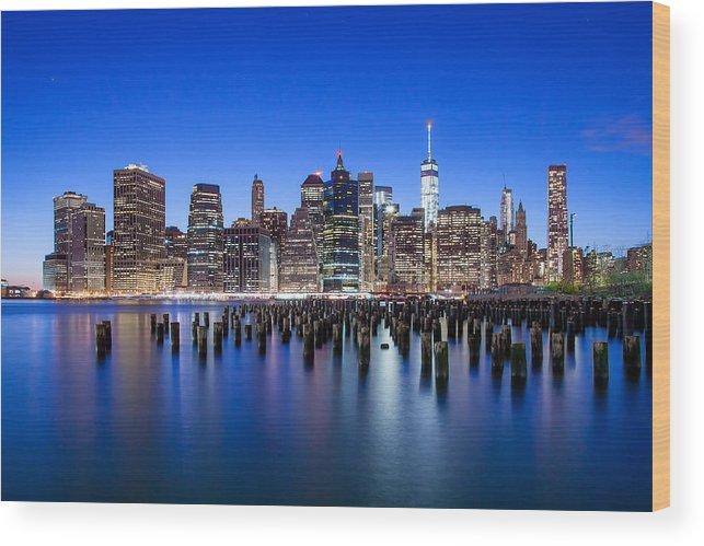 New York City Wood Print featuring the photograph Inspiring Stories by Az Jackson