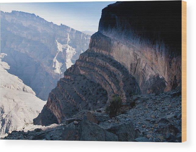 Oman Wood Print featuring the photograph Jebel Shams by Barbara Kyne