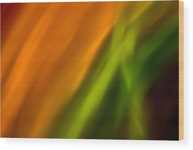 Colorful Wood Print featuring the photograph Lite Abstract 7 by Jason Trav Whitmer