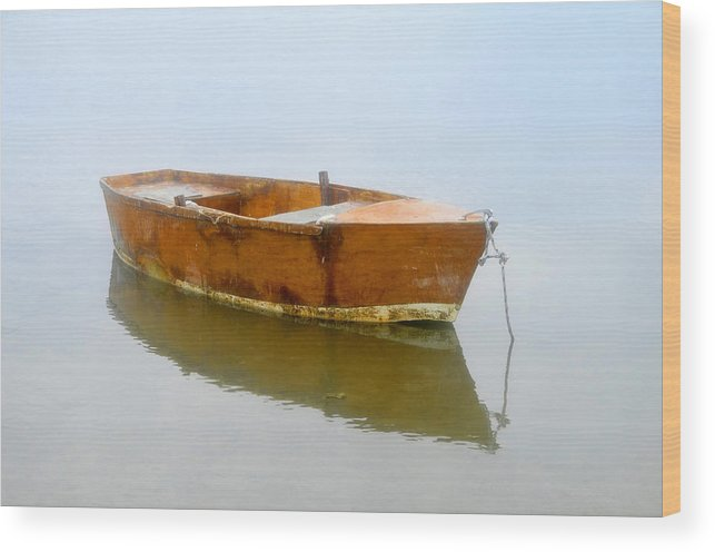 Boat Wood Print featuring the photograph Little Boat by David Lee Thompson