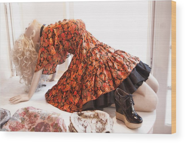 Mannequin91 Wood Print featuring the photograph Mannequin 91 by David Hare