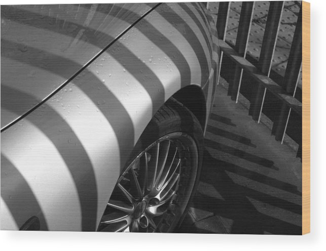 Jez C Self Wood Print featuring the photograph Matching Stripes by Jez C Self
