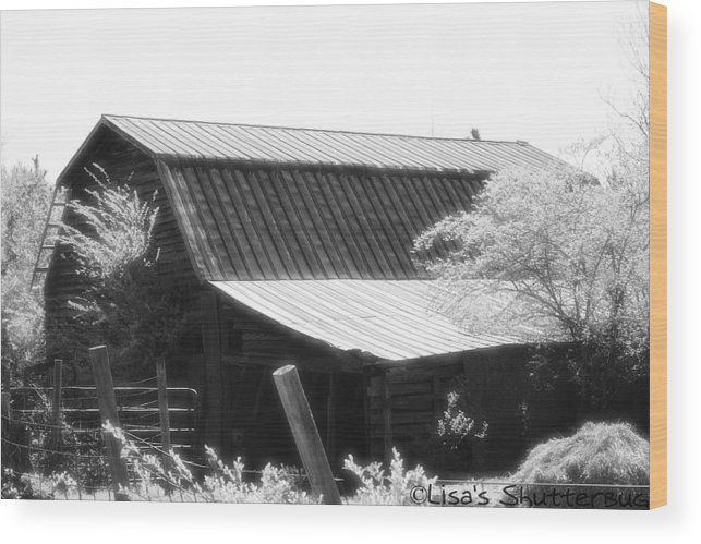Barn Wood Print featuring the photograph Mcdonald 4 by Lisa Johnston