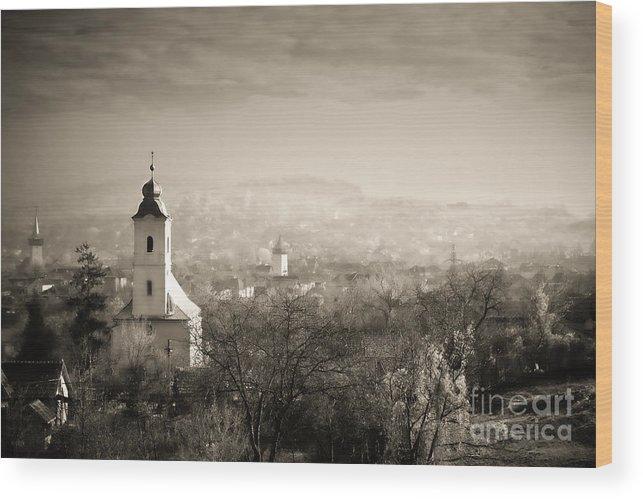 Mist Wood Print featuring the photograph Mist by Gabriela Insuratelu