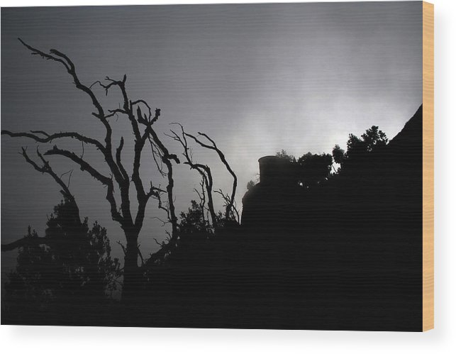 Montserrat Wood Print featuring the photograph Misty Montserrat by Jason Hochman