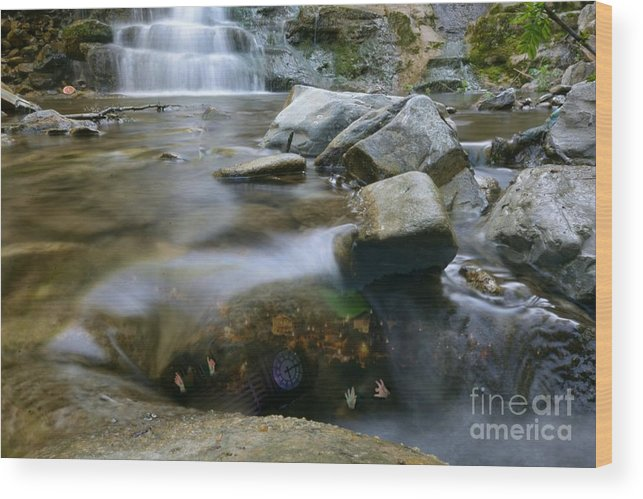 Earth Wood Print featuring the photograph Mother Earth by Fabio Rossi