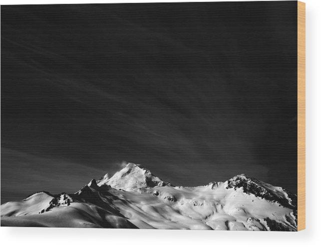 Mount Wood Print featuring the photograph Mount Baker Washington by Alasdair Turner