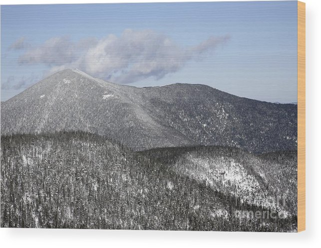 Hike Wood Print featuring the photograph Mount Carrigain - White Mountains New Hampshire Usa by Erin Paul Donovan