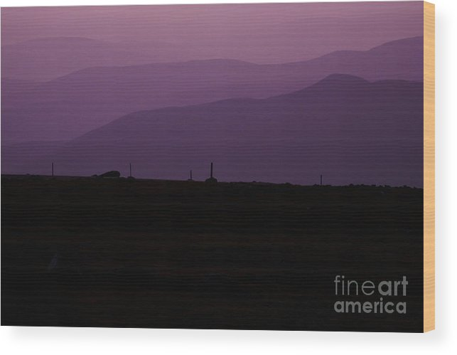 White Mountains Wood Print featuring the photograph Mount Washington New Hampshire - Auto Road by Erin Paul Donovan