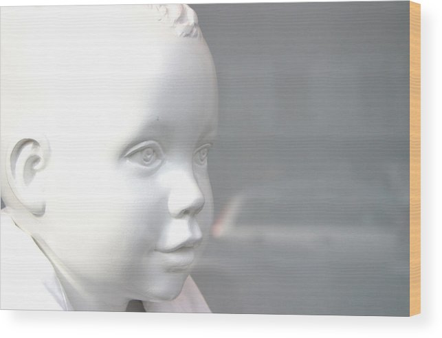 Jez C Self Wood Print featuring the photograph My Face by Jez C Self