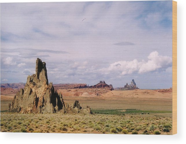 Arizona Wood Print featuring the photograph Mystery Valley by Cathy Franklin