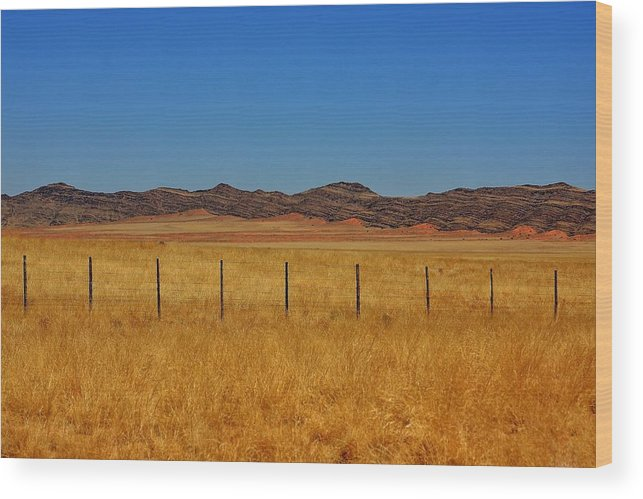 Namibia Wood Print featuring the photograph Namib Desert 3 by Stacie Gary