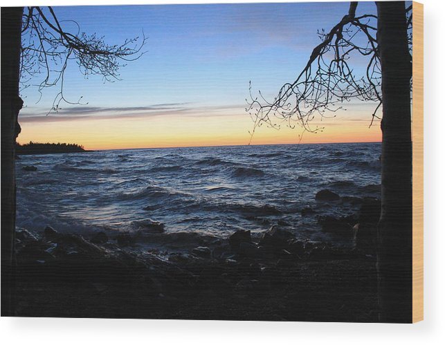 Pure Wood Print featuring the photograph Nature Frame by Two Bridges North