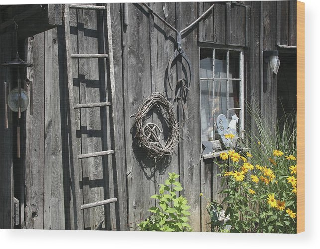 Barn Wood Print featuring the photograph Old Barn II by Margie Wildblood
