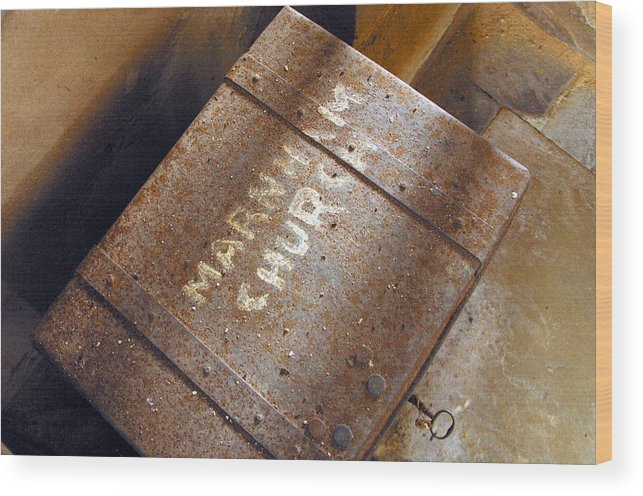 Jez C Self Wood Print featuring the photograph Open The Box by Jez C Self