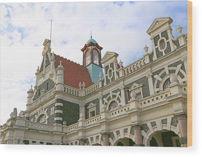 Ornate Wood Print featuring the photograph Ornate Architecture by Nareeta Martin