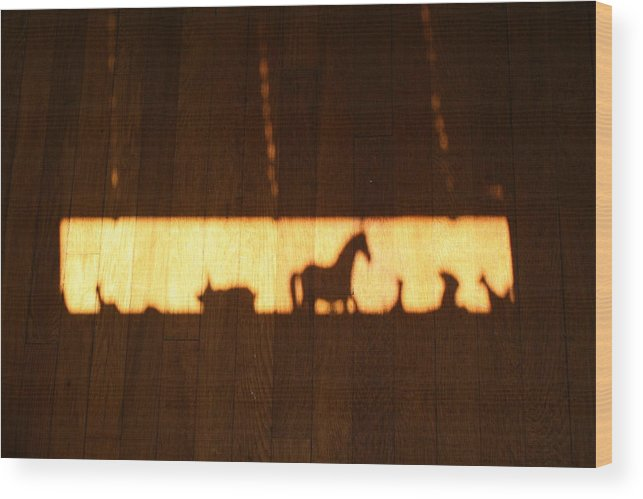 Animals Wood Print featuring the photograph Parade by Jessica Pope